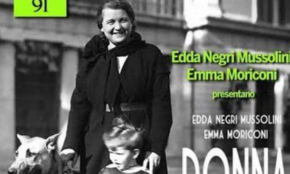 A Meda arriva Edda Negri Mussolini