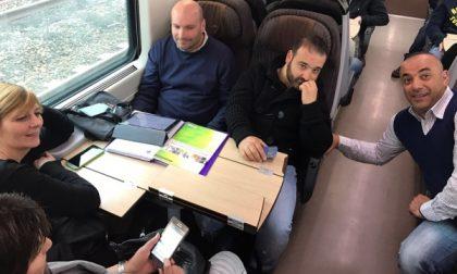 A Roma con i lavoratori K-Flex di Roncello