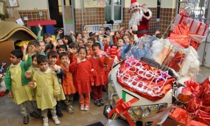 A Seregno Babbo Natale arriva in moto