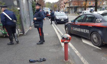 Arcore, motociclista inseguito in centro dai carabinieri