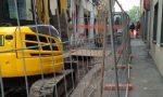 Seregno: nuova fognatura a Santa Valeria