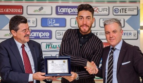 Besana, il Campione d'Italia Giacomo Nizzolo cittadino onorario di Darfo Boario Terme