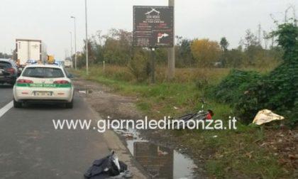Ciclista travolto sul viale delle Industrie di Monza: condizioni critiche