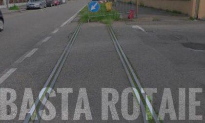 """Desio – """"Basta rotaie"""": partita la raccolta firme per rimuovere i fastidiosi binari del tram"""