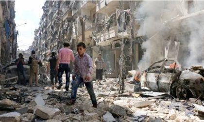 Desio, #Io sto con Aleppo: presidio di solidarietà con il popolo siriano