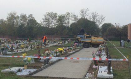 Desio, al cimitero nuovo 360 tombe off limits