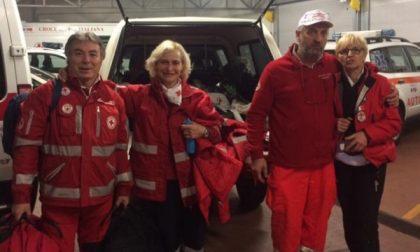 Desio, i volontari della Croce rossa portano aiuto e sorrisi nelle zone terremotate