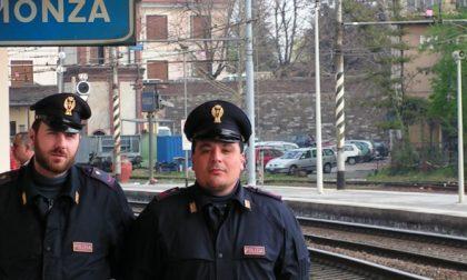 Doppio colpo dellaPolfer in stazione a Monza: presi ladro e pusher