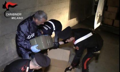 Droga, Carabinieri sequestrano 270 chilogrammi di hascisc
