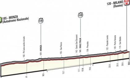 L'ultima tappa del Giro d'Italia partirà da Monza