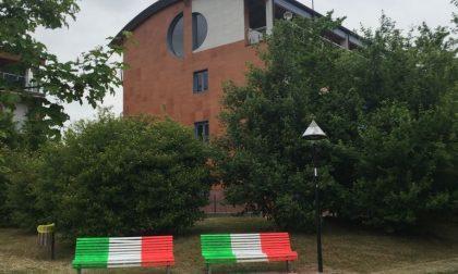 Triuggio, panchine tricolore per la festa della Liberazione