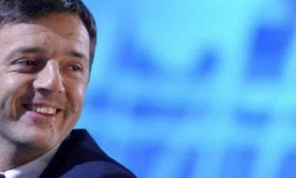 Il presidente del Consiglio Matteo Renzi a Monza per il sì al referendum