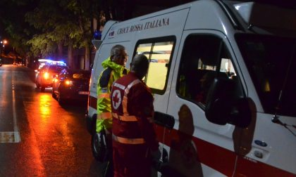 Incidente a Lentate due feriti SIRENE DI NOTTE