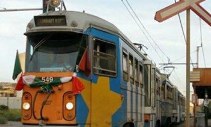 Limbiate, a San Valentino un messaggio d'amore per il tram