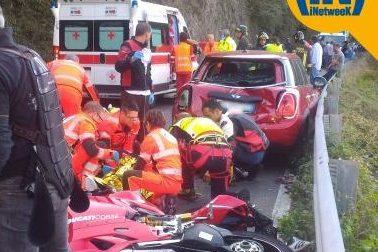 Meccanico 28enne di Muggiò si schianta in moto