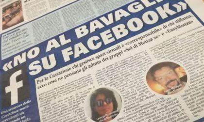 Monza, «No al bavaglio su Facebook»