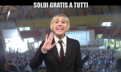 """Monza, soldi gratis: i migliaia del PalaIper finiscono alle """"Iene"""""""