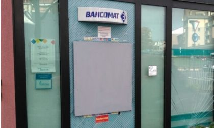 Nova Milanese, assalto al bancomat ma i ladri sono costretti a rinunciare al bottino