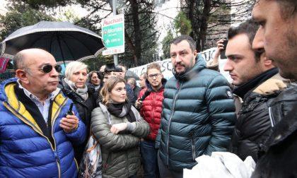 Profughi, Salvini movimenta il weekend monzese: doppia incursione