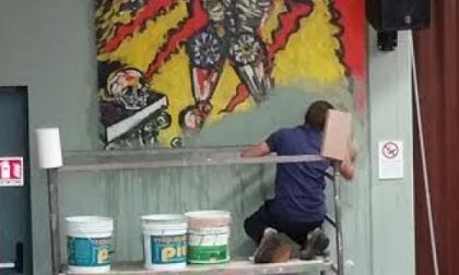 Seregno: imbianchini a scuola cancellano due affreschi