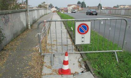 Seregno: un ponte pericoloso sopra la ferrovia