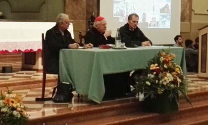 Sovico, bagno di folla per l'arrivo del cardinale Scola