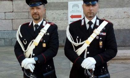 Stamattina in Duomo a Monza  l'annuale messa di precetto pasquale delle Forze dell'Ordine