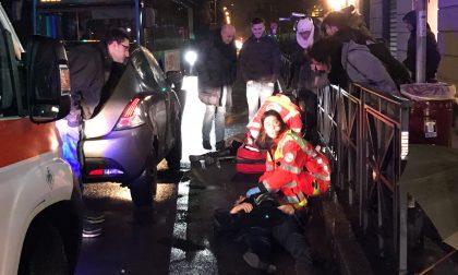 Tre pedoni travolti nel giro di mezz'ora a Monza: sono in gravi condizioni