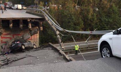 Valassina, viadotto crollato: la superstrada riaperta