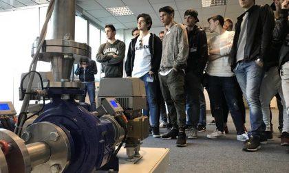 Visita dell'Istituto Tecnico Industriale Hensemberger di Monza  alla Ksb