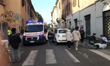Monza, grave incidente all'altezza dell'Olivetti in via Lecco