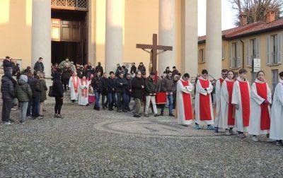 Concorezzo, sabato alle 6 la processione con il Crocifisso