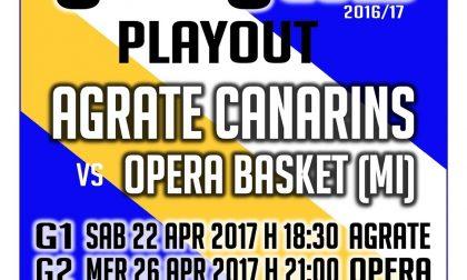 Basket: Agrate sconfitto a Opera, la salvezza passa da gara 3