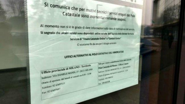 Nuovo Ufficio Catasto Roma : Ufficio catasto a breve la riapertura giornale di monza