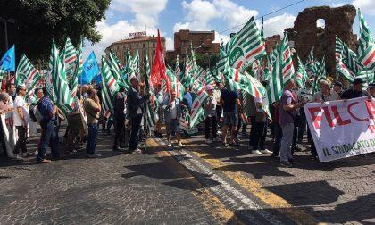 Previdenza sociale: oltre 700 edili lombardi in piazza