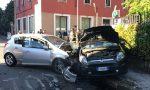 Monza, frontale in via Goldoni