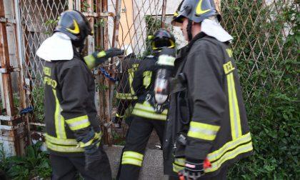 Sembrava un incendio, ma era un barbecue abusivo acceso da un gruppo di rom