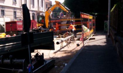 Tubo danneggiato: sospesa l'erogazione del gas in centro