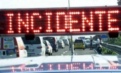Traffico in Valassina,  circolazione bloccata a causa di un incidente