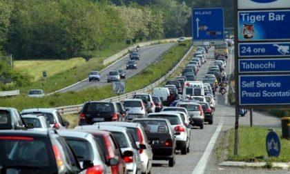 Incidente sulla Statale 36, rallentamenti in direzione Lecco