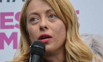 Elezioni: gli occhi di Giorgia Meloni puntati su Lissone