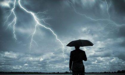 Gita della domenica rovinata dal maltempo: allerta meteo per temporali forti