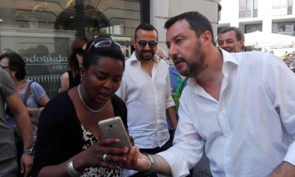 Elezioni, Salvini di nuovo a Monza al mercato