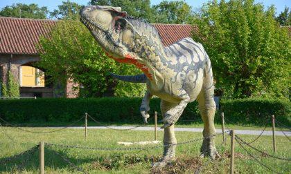 Dinosauri al Parco: la mostra prosegue fino a novembre