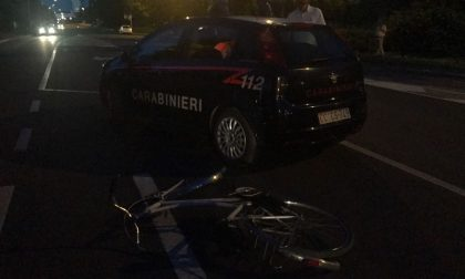 Concorezzo incidente: una 20enne in bici travolta da un'auto, è grave