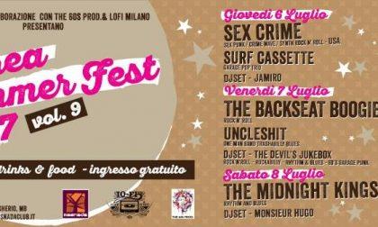 Increa Summer Fest: tre giorni a tutta musica a Brugherio