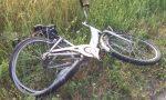 VIMERCATE: incidente fra bici e moto in via san Maurizio
