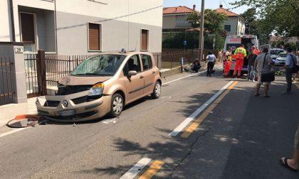 Mezzago: ciclista investito da un'auto, è grave VIDEO