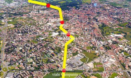 Monza metropolitana: ecco dove arriverà in centro città