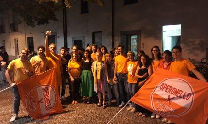 """A Cesano l'onda arancione di """"Passione Civica""""  arriva in piazza Arese"""